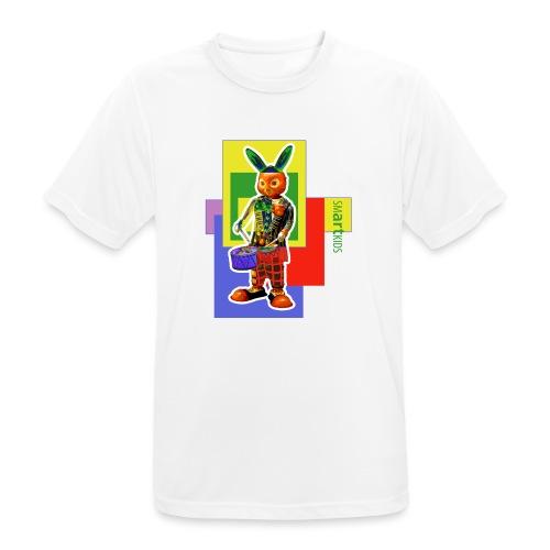 smARTkids - Slammin' Rabbit - Men's Breathable T-Shirt