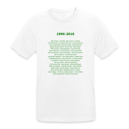 tekening4 - mannen T-shirt ademend