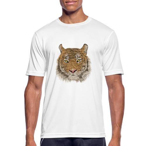 Tiger - Männer T-Shirt atmungsaktiv