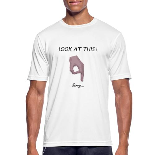 Hole-ly Shit ! - T-shirt respirant Homme