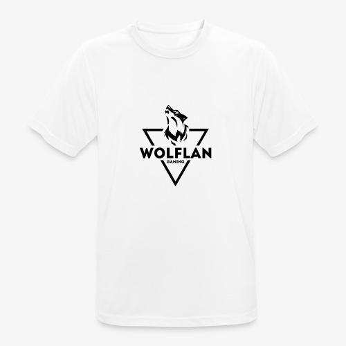 WolfLAN Gaming Logo Black - Men's Breathable T-Shirt