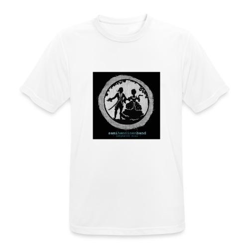 SHB - Näkymätön mies - miesten tekninen t-paita