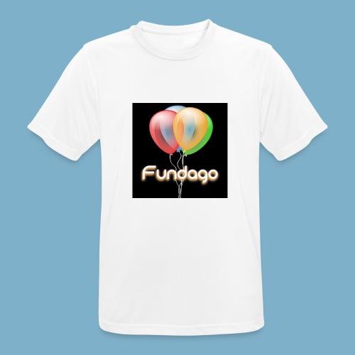 Fundago Ballon - Männer T-Shirt atmungsaktiv