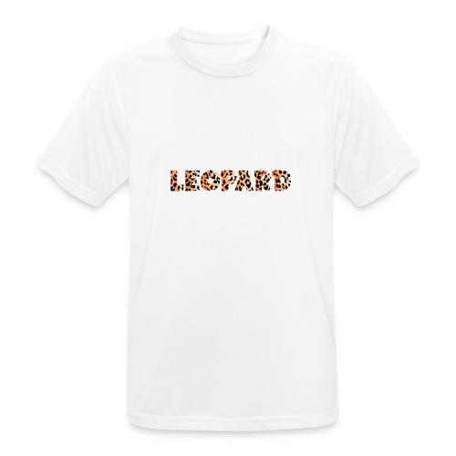 leopard 1237253 960 720 - Männer T-Shirt atmungsaktiv