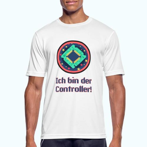 I am the controller - Men's Breathable T-Shirt