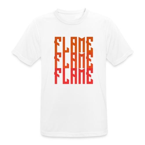 maglietta_flame_flame_flame - Maglietta da uomo traspirante