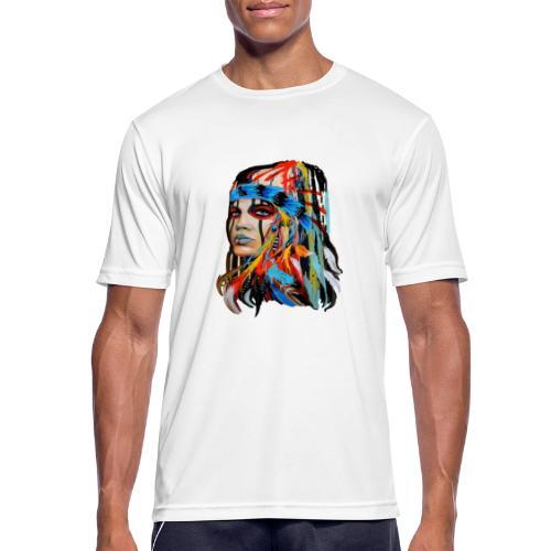 Pióra i pióropusze - Koszulka męska oddychająca