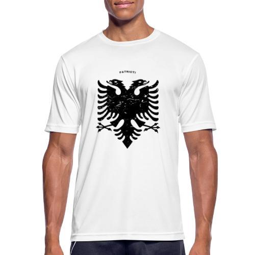 Albanischer Adler im Vintage Look - Patrioti - Männer T-Shirt atmungsaktiv