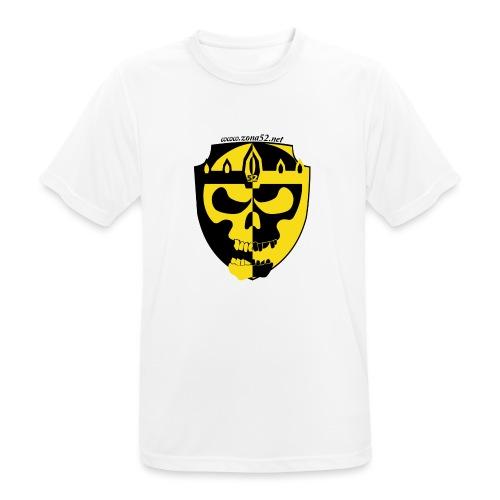 Logo clan zona 52 - Camiseta hombre transpirable