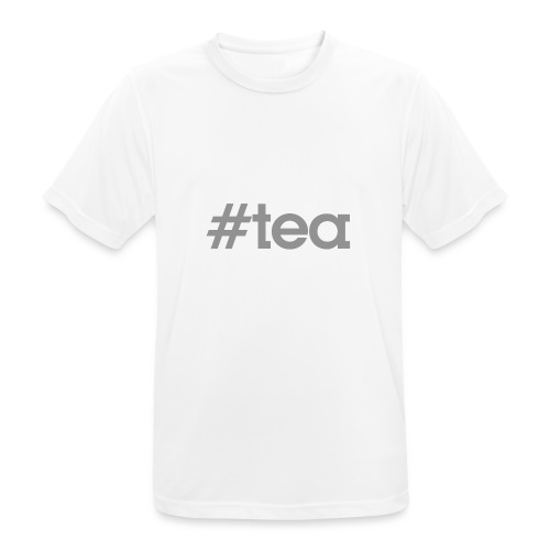 hashtag Tea gris - T-shirt respirant Homme