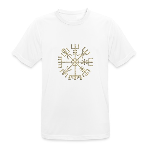 Vegvisir-The-Runic-Viking or - T-shirt respirant Homme