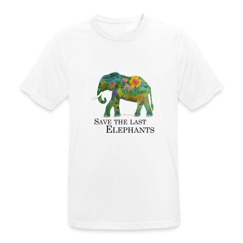 Save The Last Elephants - Männer T-Shirt atmungsaktiv