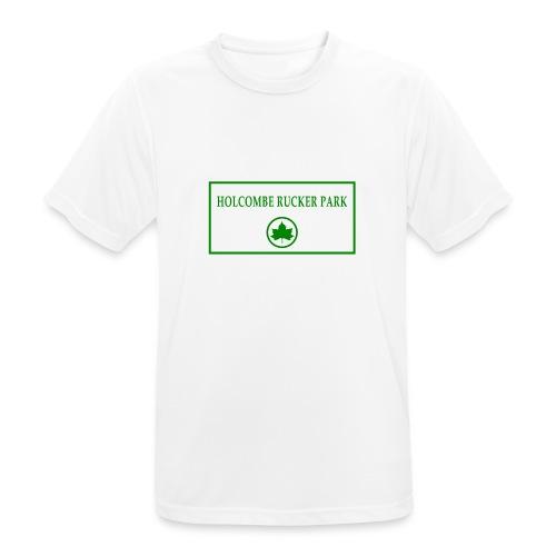RuckerPark - Maglietta da uomo traspirante