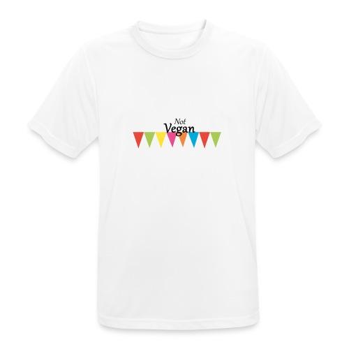 Not Vegan - Men's Breathable T-Shirt