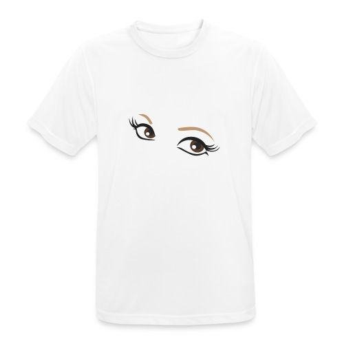 4 ur Eyes - Camiseta hombre transpirable