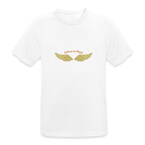 Angel - Männer T-Shirt atmungsaktiv