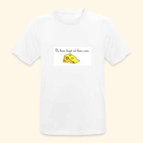 Kaas loopt uit haar oren - Temptation - Mannen T-shirt ademend