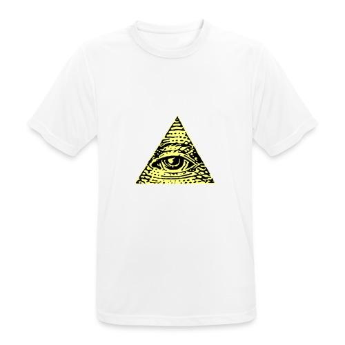 Illuminati - Andningsaktiv T-shirt herr