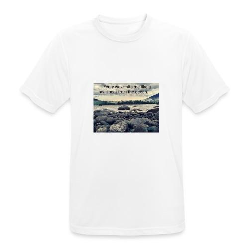 Oceanheart - Pustende T-skjorte for menn