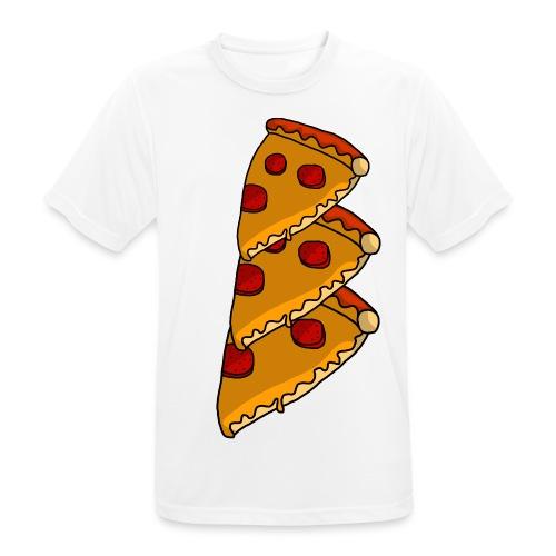 pizza - Herre T-shirt svedtransporterende
