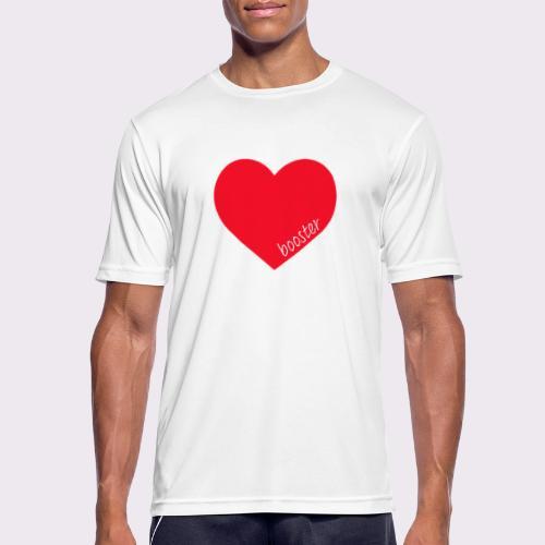 lovebooster - Men's Breathable T-Shirt