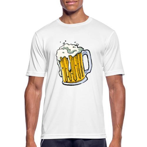 Boccale Birra - Maglietta da uomo traspirante