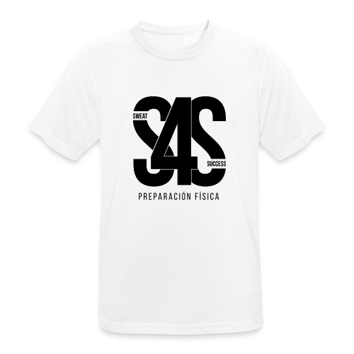 Logo Iniciales Sweat4Success - Camiseta hombre transpirable