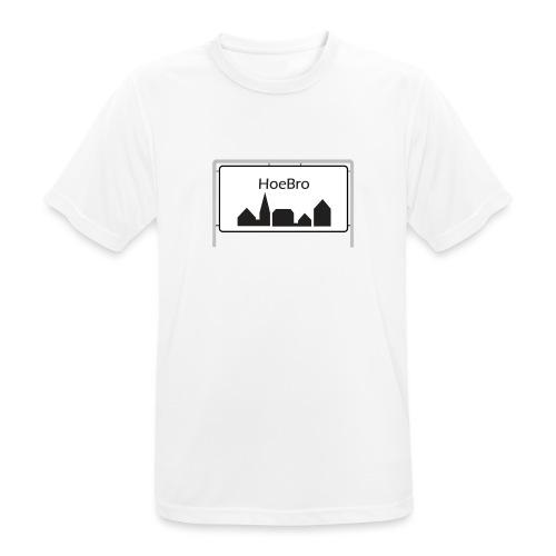 Hoebro - Herre T-shirt svedtransporterende