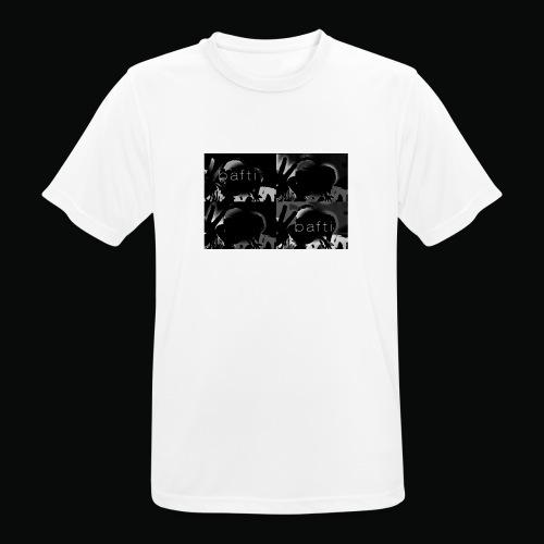 black bafti crew - Herre T-shirt svedtransporterende