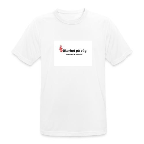SakerhetPaVag - Andningsaktiv T-shirt herr