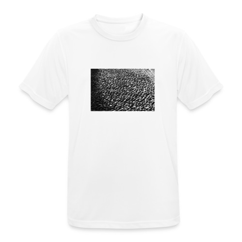 cobblestone shirt - mannen T-shirt ademend