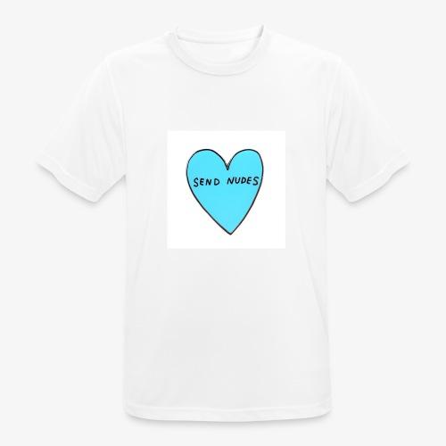 send nudes - Men's Breathable T-Shirt