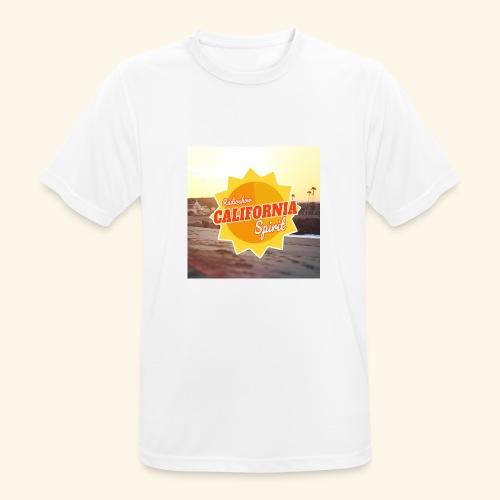 SunRise - T-shirt respirant Homme