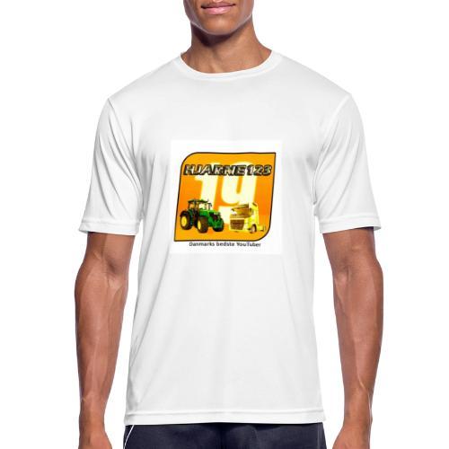 hjarne 123 danmarks bedeste youtuber - Herre T-shirt svedtransporterende