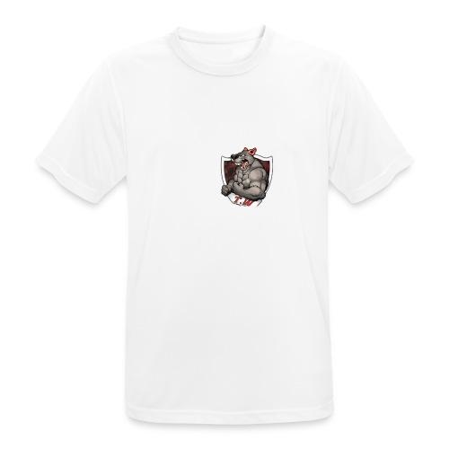 mouse logo - Men's Breathable T-Shirt