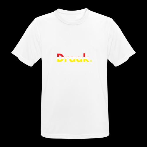 Draak Transparant Design - Mannen T-shirt ademend actief