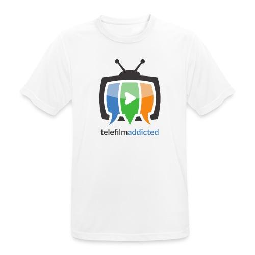Telefilm Addicted Logo - Maglietta da uomo traspirante