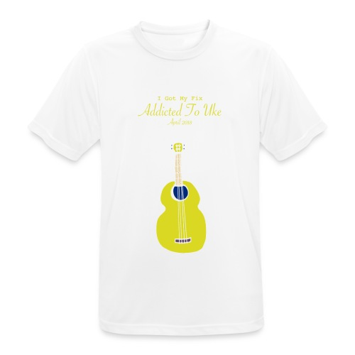 Addicted To Uke Spring 2018 Souvenir - Men's Breathable T-Shirt
