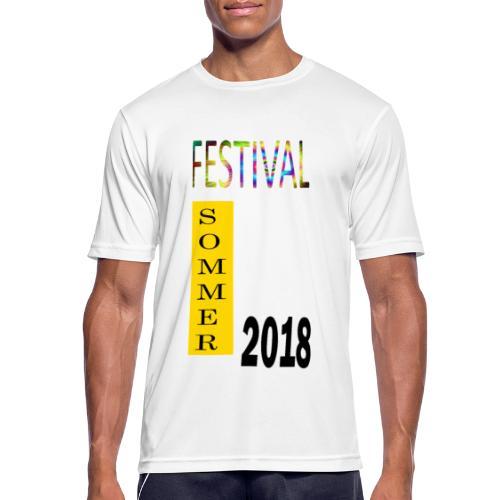 Festival Saison 2018 #1 - Männer T-Shirt atmungsaktiv
