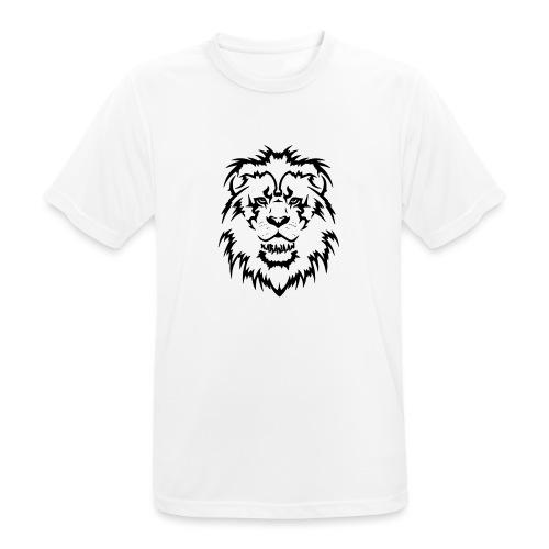 Karavaan Lion Black - Mannen T-shirt ademend actief