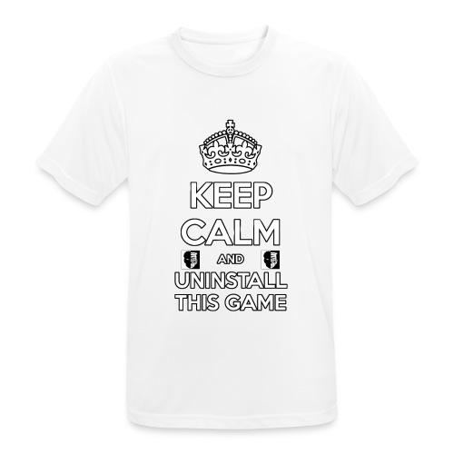 Keep Calm - Maglietta da uomo traspirante