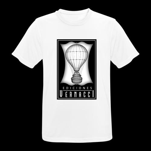 logotipo de ediciones Vernacci - Camiseta hombre transpirable