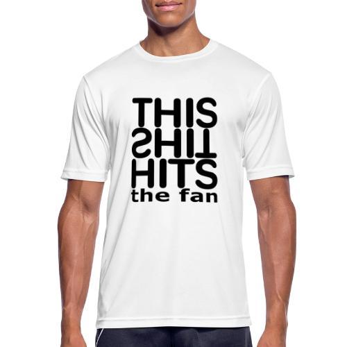 TSHTF BLACK - Camiseta hombre transpirable