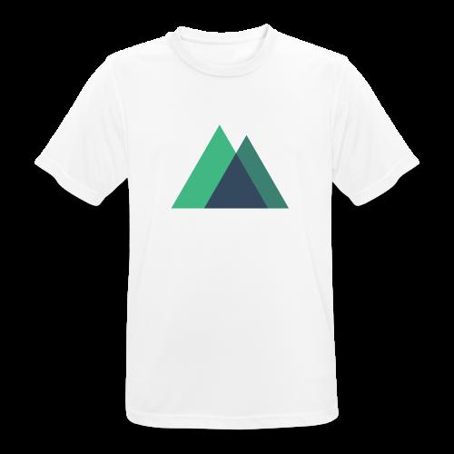Mountain Logo - Men's Breathable T-Shirt
