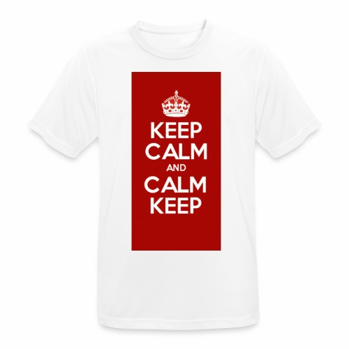 Keep Calm Original Shirt - Men's Breathable T-Shirt