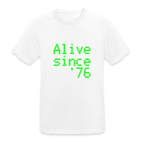 Alive since '76. 40th birthday shirt - Men's Breathable T-Shirt