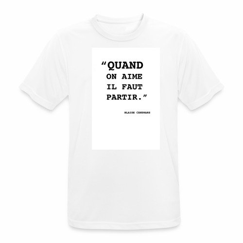 Cendrars#01 - T-shirt respirant Homme
