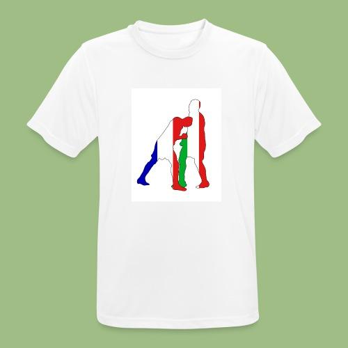 Zidane and Materazzi - Andningsaktiv T-shirt herr