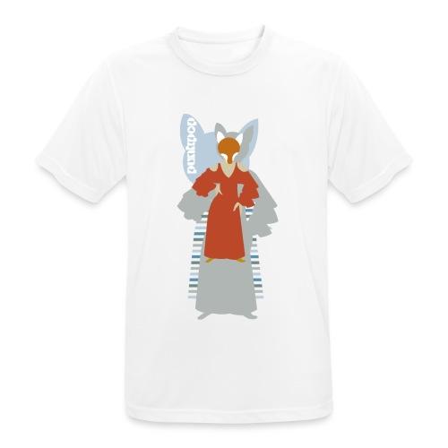 Progressive Fox PunkPop - Maglietta da uomo traspirante
