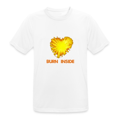 Burn inside - Maglietta da uomo traspirante